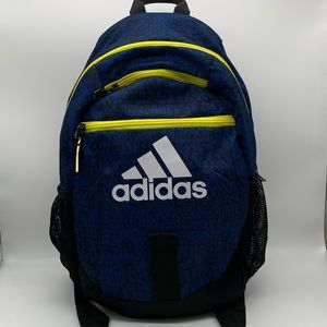Adidas Blue/Yellow Backpack